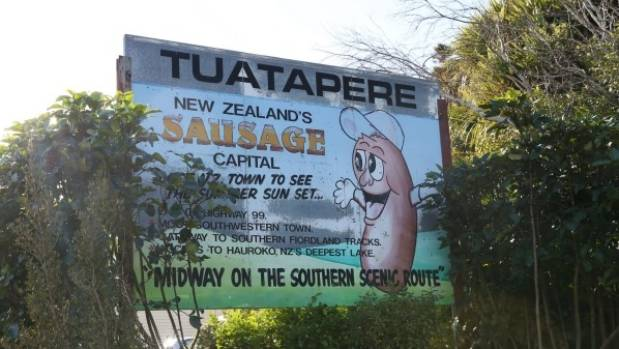 Tuatapere lays claim to being New Zealand's sausage capital.