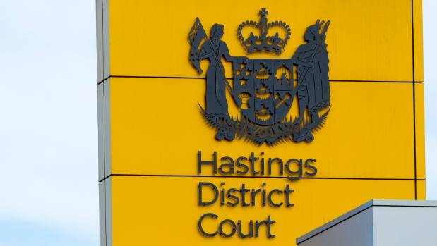 Samuel was sentenced at Hastings District Court