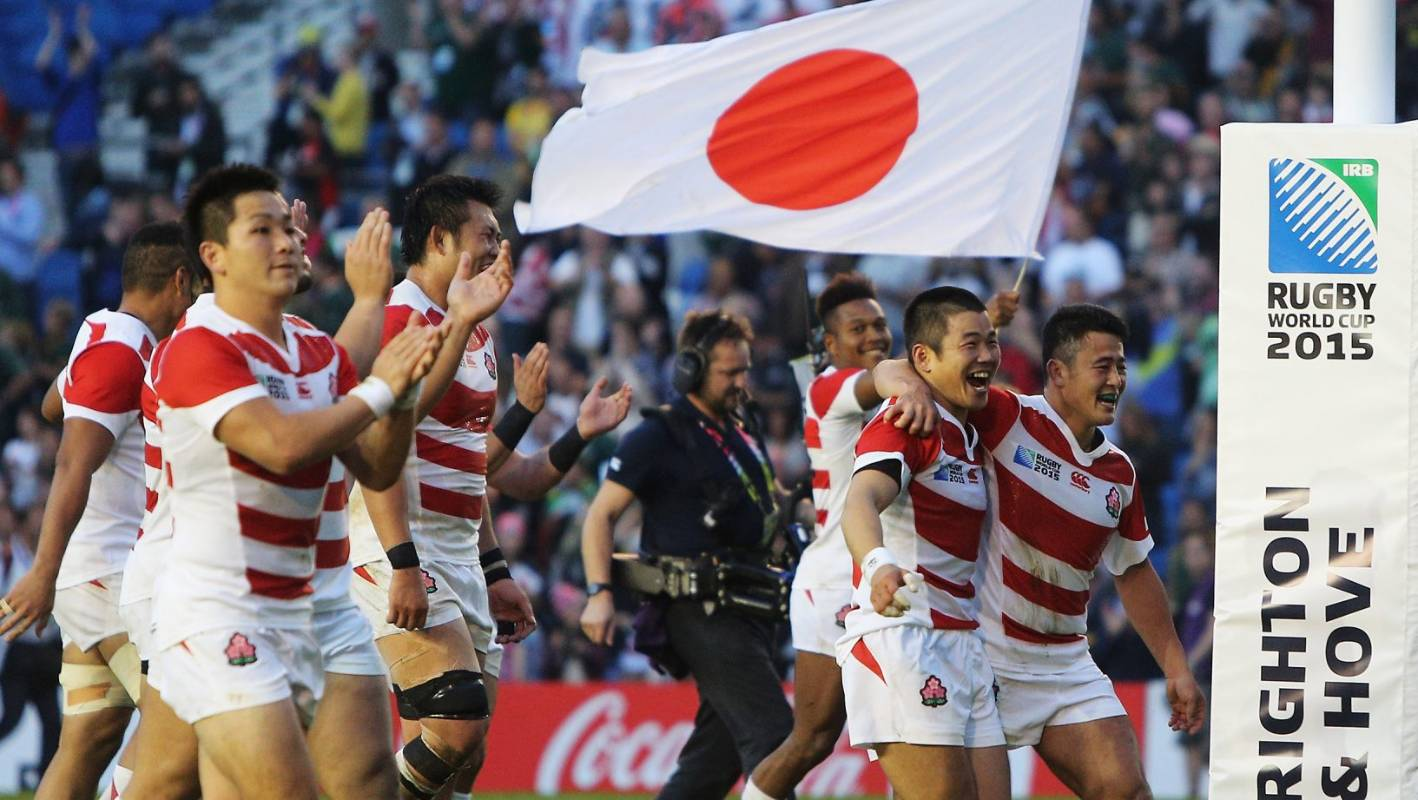 Japan captain Michael Leitch finds fame with Brave Blossoms