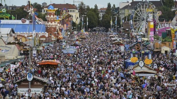 Oktoberfest draws the crowds. Too many of them.