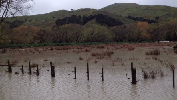 Some people have not been able to get to work from the Tora coast after heavy flooding cut the road to Martinborough ...