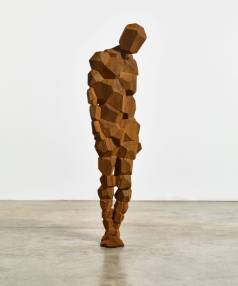 Antony Gormley's STAY sculpture weights 609 kilograms and is 1.84m tall.