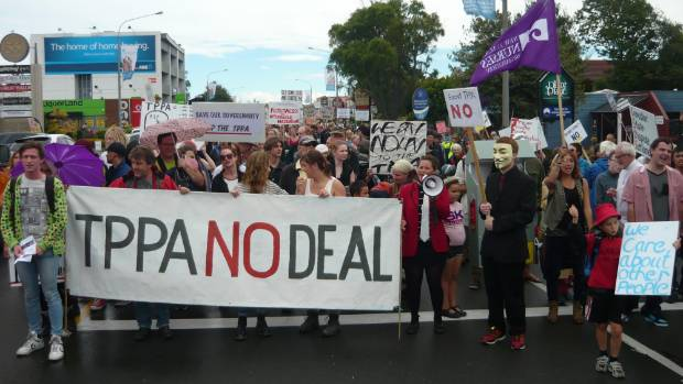TPPA has faced strident opposition from protesters, both in New Zealand and overseas.