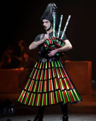 Upper Hutt duo Chris and Gary Wilson's green and red LED-lit kilt in Piper of the Lights caught the judge's eyes in the ...