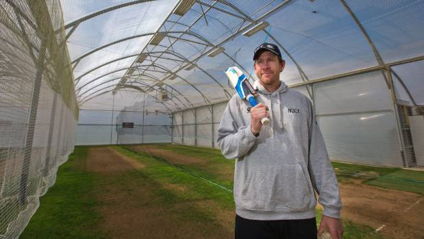 Former Black Caps all-rounder Jacob Oram is in charge of the indoor grassed practice wicket facility at Palmerston North ...