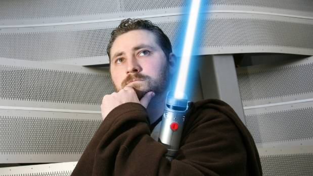 Jedi Craig Thomas (pictured) ran unsuccessfully for council in 2010. He is one of thousands of self-professed Kiwi Jedi, ...
