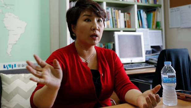 Lee Hosun, a professor at Korea Soongsil Cyber University, says prostitution in South Korea is a social problem.