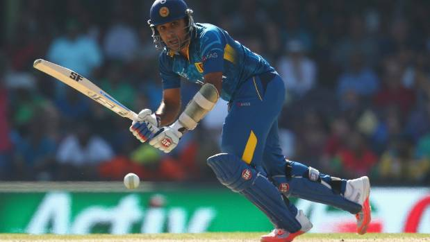 Mahela Jayawardene played his final international innings against South Africa at the World Cup in March.