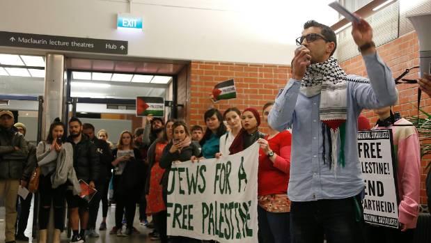 "Victoria University student Mohammad Alzeer says he is upset the university has allowed ""murderers"" to speak."