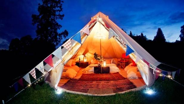 Is glamping the option for you?