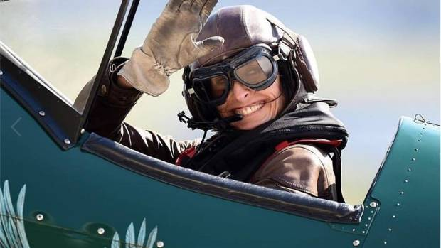 "Self-styled ""Bird in a Bi-Plane"" Tracey Curtis-Taylor is flying solo from Britain to Australia."
