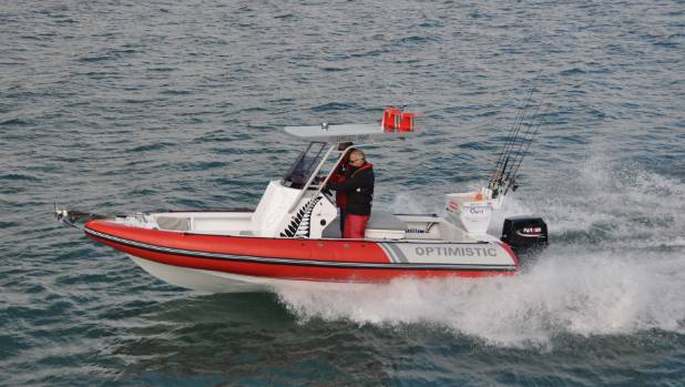 The Origami 560 Performs Well With A 90hp Outboard