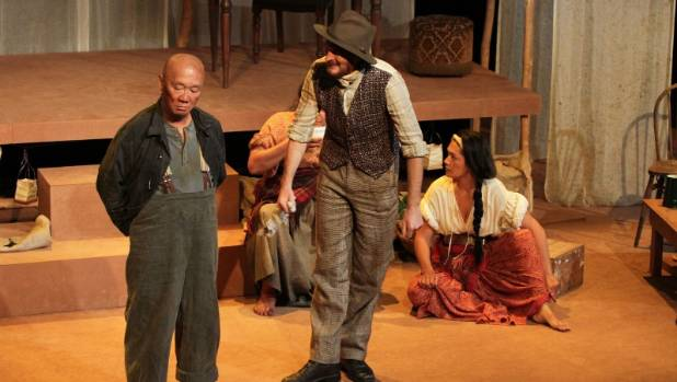 The play touches on the themes of racism and prejudice.