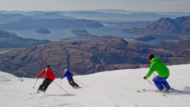 Treble Cone ski area which opens on June 22.