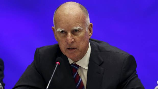 "California Governor Jerry Brown: ""I was left to reflect on what I would want in the face of my own death."""