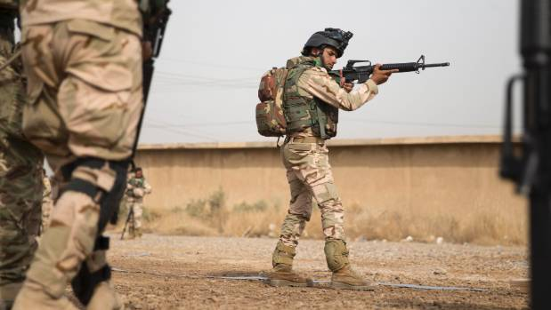 New Zealand trainers have been working with Iraqi troops as part of a two-year deployment, but the US says it and other ...