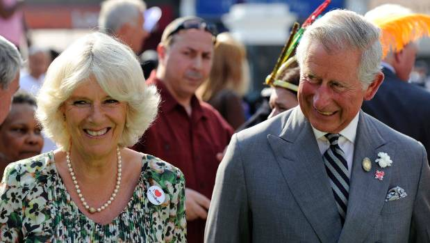 Britain's Prince Charles and Camilla, Duchess of Cornwall will visit Nelson as part of a royal visit.