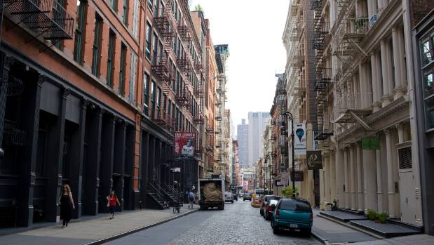 Mercer St in New York is where the wealthy can rent out apartments for about $30,000 a month.