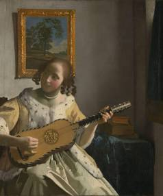 The Guitar Player, a 1672 painting by Johannes Vermeer: House Four's hidden secret?