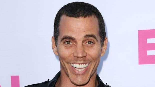 "Steve-O climbed atop a crane and blew up an inflatable killer whale which had the words ""SeaWorld sucks"" emblazoned on ..."
