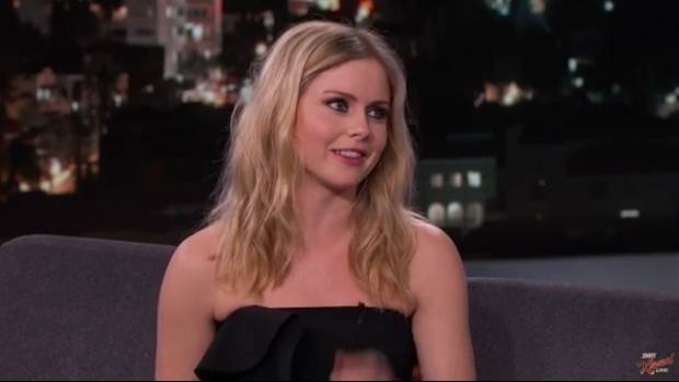 """Kiwi actress and iZombie star Rose McIver talked about her """"rom, com, zom, dram"""" show on Jimmy Kimmel Live."""