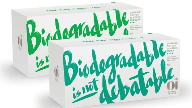 Organic Initiative sanitary products are made in Europe with cotton sourced from certified organic farms.