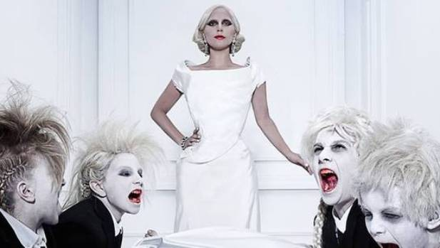 Lady Gaga stars as The Countess in the new season of American Horror Story: Hotel