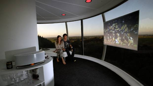 Man Cave Ideas Nz : Williams skysphere man cave takes rugby to new heights