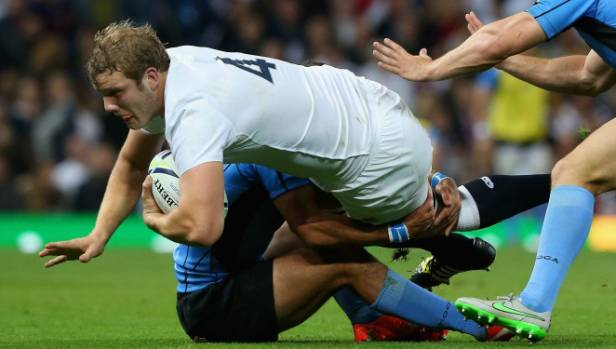 Joe Launchbury of England also misses out on a place.