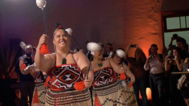 A Brazilian audience was brought to tears by a kapa haka rendition of The Girl from Ipanema.