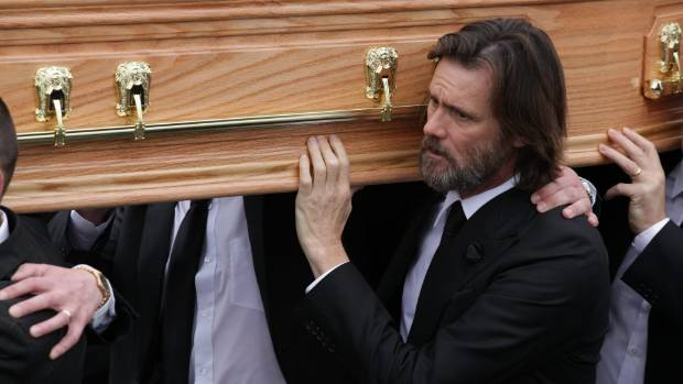 Jim Carrey was a pall bearer at Cathriona White's funeral.