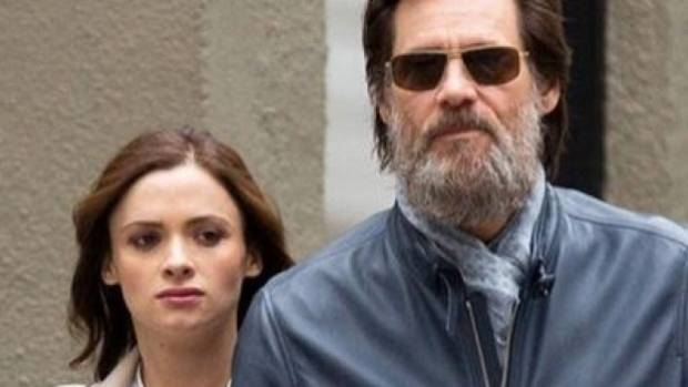 Jim Carrey and former girlfriend, Cathriona White.