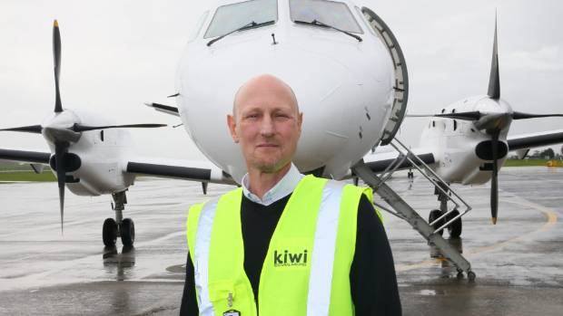 Kiwi Regional Airlines chief executive Ewan Wilson is has been in talks with the Taupo Airport about providing Taupo flights.