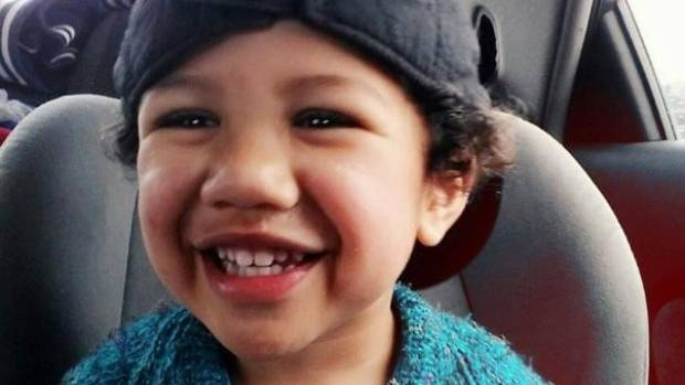 Matiu Wereta, the Hastings toddler who died on Wednesday.