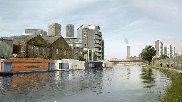 Disused waterways in Greater London may get a new lease of life if the city adopts this concept by Baca Homes.
