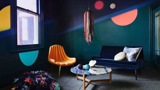 Dulux is declaring 2016 the year of moody shades, futuristic inspiration and throwbacks to times past.