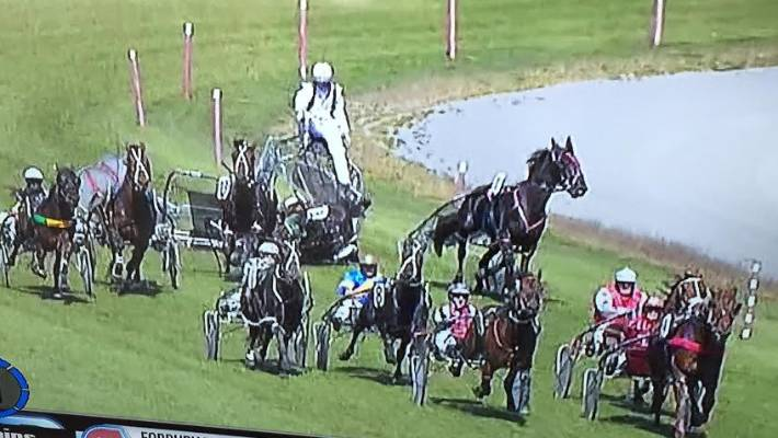 Harness driver Sam Ottley injured in nasty accident at Methven