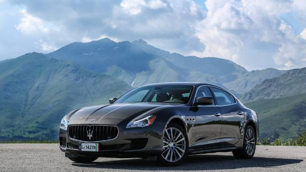 Kiwis aren't ostentatious spenders, and won't tend to splurge on something like a Maserati.