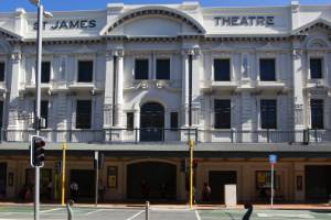 Built in 1912, Wellington's historic St James Theatre has sparked plenty of ghost stories.