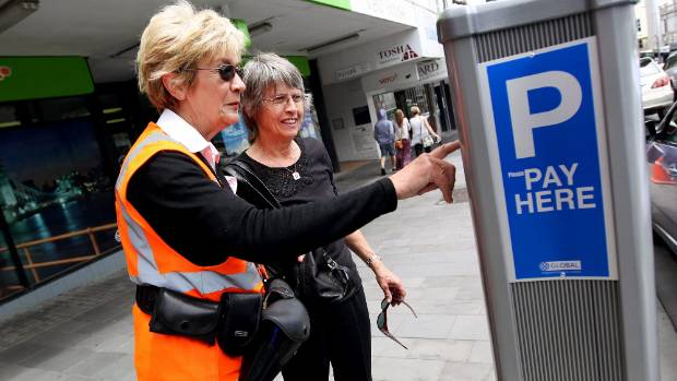 Worries about the parking warden may soon be over in New Plymouth's CBD, in the weekend at least, with the District ...
