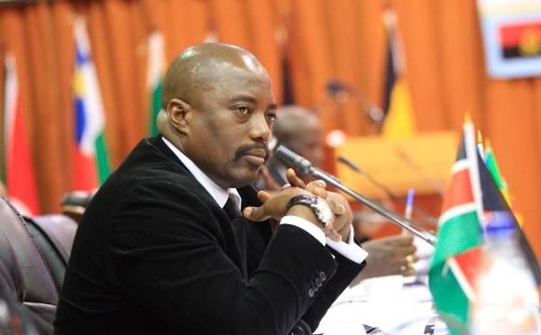 6. The Democratic Republic of Congo's President Joseph Kabila.