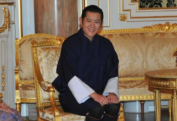 1. Jigme Khesar Namgyel Wangchuck, King of Bhutan.