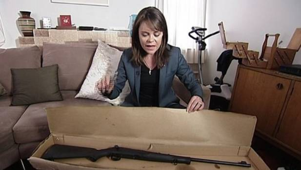 Story co-host Heather du Plessis-Allan said buying a gun was so easy it was like finding money on the ground.