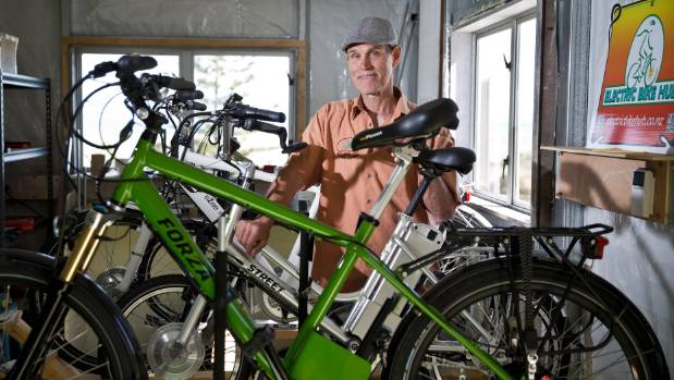 Jace Hobbs of the Electric Bike Hub has been awarded a contract with the NZTA for his electric bikes.