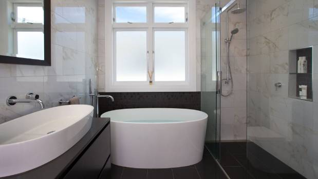 Top italian tile trends that will define nz home interiors for Small bathroom designs nz