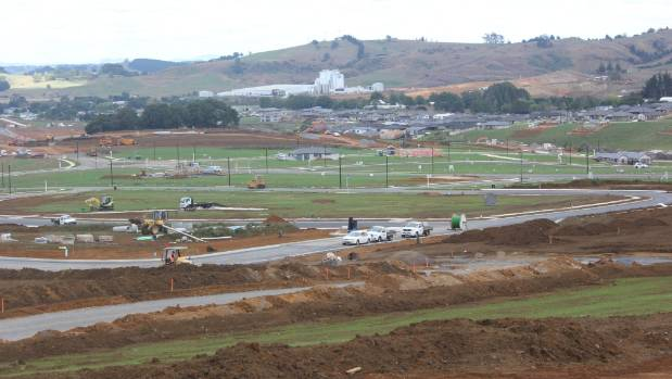 Development at Pokeno is one of the drivers of growth in the Waikato District.