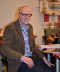 Author Tony Ballantyne.