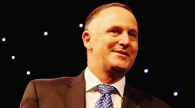 John Key: Handsome or no? Tell us in the comments.