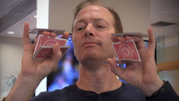 Magician Charlie Frye is a master of juggling and card tricks and is in Wellington for Magicians in the Capital. Photo: ...