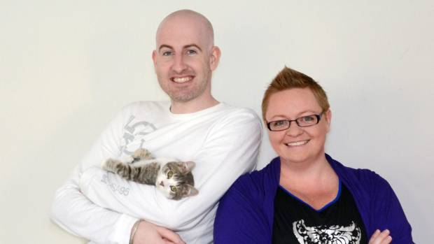 Mike Jones and Vicky Chapman opened The Cat Lounge last year.